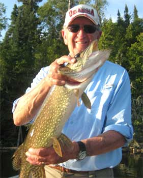 Great Northern Pike Fishing at Fireside Lodge in Canada
