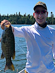 Trophy Smallmouth Bass 1st Time Fishing in Northwest Ontario at Fireside Lodge