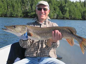 pike fishing in canada for large fish