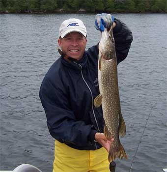 big girth northern pike in ontario