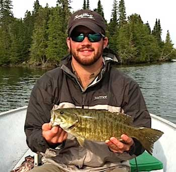 Biggest Smallmouth Bass Fishing at Fireside Lodge Canada