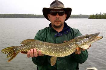 Terrific Fishing for BIG Northern Pike at Fireside Lodge Canada