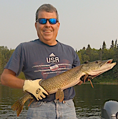 BIG Northern Pike Fishing is a Blast at Fireside Lodge in Canada by Chris