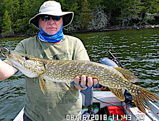 BIG Northern Pike Fishing at Fireside Lodge in Canada