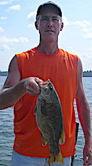 Matt with Another Trophy Smallmouth Bass