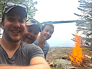 Shorelunch Selfie Fishing at Fireside Lodge in Canada