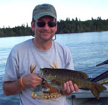 fishing is fabulous when catching huge smallmouth bass in Canada