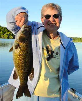 numbers of trophy smallmouth bass in Canada