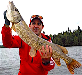 Love BIG Northern Pike Fishing at Fireside Lodge by Steve
