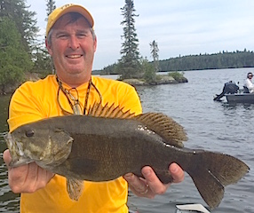 Super Fishing for Trophy Smallmouth Bass at Fireside Lodge by Brian Reames