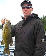 Terrific Fishing for Trophy Smallmouth Bass at Fireside Lodge by Matt