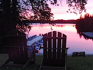 Beautiful Sunset at Fireside Lodge