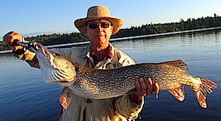 Trophy Northern Pike Fishing at Fireside Lodge by Spencer Olson