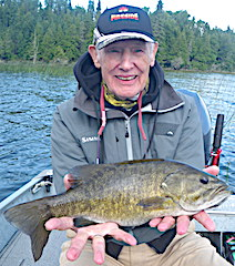 Terrific Fishing for BIG Smallmouth Bass by Jack Hires at Fireside Lodge in Canada