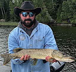 Lot of Northern Pike This Size Fishing at Fireside Lodge in Canada by Kyle