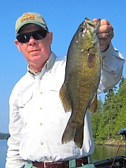 Super Fishing for Trophy Smallmouth Bass by Jerry at Fireside Lodge