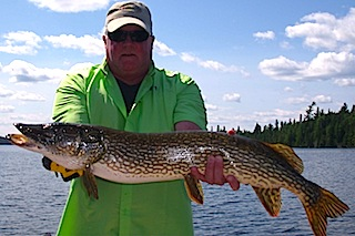 Great Fishing for BIG Northern Pike at Fireside Lodge Canada