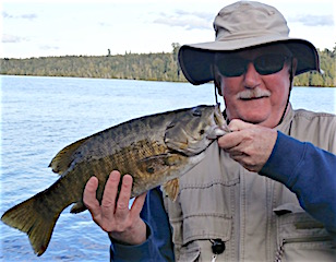 Trophy Smallmouth Bass Are Abundant Fishing at Fireside Lodge