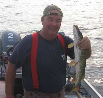 fast action northern pike fishing lodge in Canada