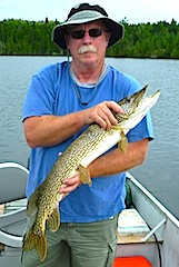 1 of 100's of Northern Pike Fishing at Fireside Lodge Canada