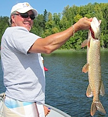 Terrific Pike Fishing by Dave Minson Fishing at Fireside Lodge Canada