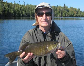 Master Angler Smallmouth Bass Fishing at Fireside Lodge in Canada