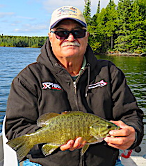 Bob Ned Rig Fishing for Smallmouth Bass in Canada
