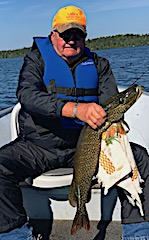 Northern Pike Fishing is a Blast in Canada