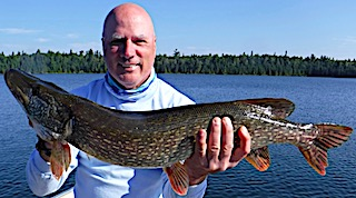 Tremendous Fishing for Very Large Northern Pike at Fireside Lodge in Northwest Ontario Canada