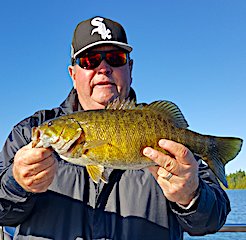 BIG Trophy Smallmouth Bass at Fireside Lodge in Canada
