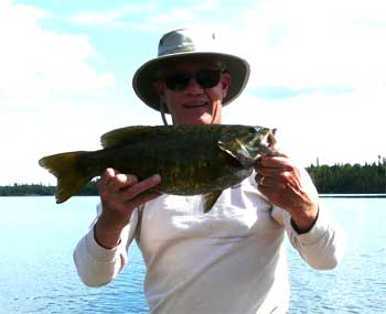many trophy smallmouth fishing lakes in Canada