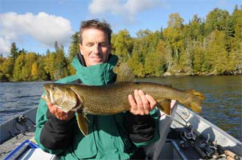 lake trout fishing at lodges in canada