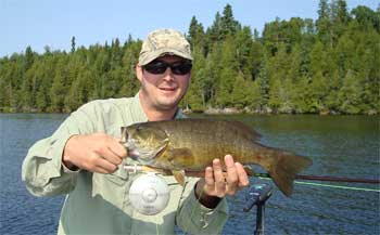 fly fishing for trophy smallmouth bass