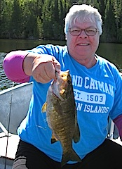 Best Fishing Day Ever by Carol at Fireside Lodge in Canada