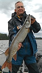 GREAT Musky Fishing at Fireside Lodge Canada by Bryan