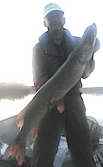 Monster Trophy Northern Pike Fishing at Fireside Lodge Canada by Bryan Neel