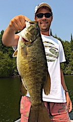 Mega Trophy Smallmouth Bass Fishing by Jake at Fireside Lodge