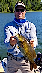 Epic Trophy Smallmouth Bass Fishing Trip at Fireside Lodge in Canada