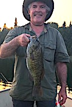 Monster Trophy Smallmouth Bass Fishing at Fireside Lodge in Canada