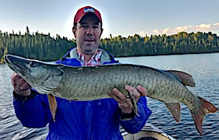 HUGE Muskie Fishing at Fireside Lodge by Andy Thomasson