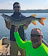 2nd BIG Muskie For Walker in 1 Day Fishing at Fireside Lodge