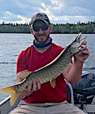 Muskie Fishing By Tyler 1 of 24 Caught in 5 Days at Fireside Lodge in Canada