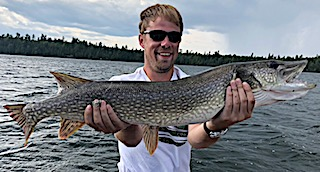 Fishing BIG Northern Pike are a Blast by Jake at Fireside Lodge