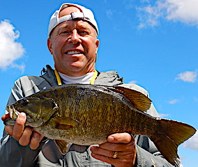 Master Anglers Trophy Smallmouth Bass Fishing by Ron at Fireside Lodge in Canada