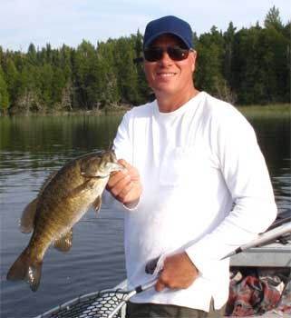 tremendous trophy fishing for smallmouth bass in canada