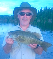 Nothing Like Trophy Smallmouth Bass Fishing at Fireside Lodge