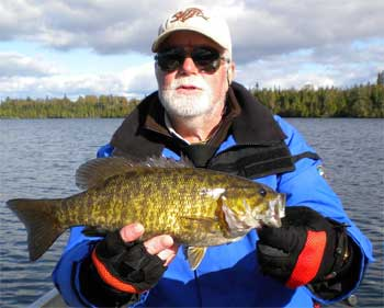 Brothers Fishing BIG Smallmouth Bass at Fireside Lodge Canada