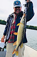 Fishing BIG Northern Pike is a Blast at Fireside Lodge by Rodney