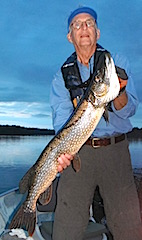 Terrific Trophy Northern Pike Fishing at Fireside Lodge by Bryan
