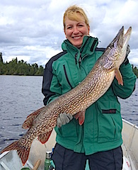 GREAT BIG Northern Pike Fishing at Fireside Lodge by Colleen